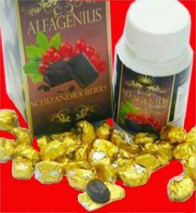 alfagenius, produk minda