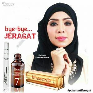 jeragat, pigment booster, diamond serum