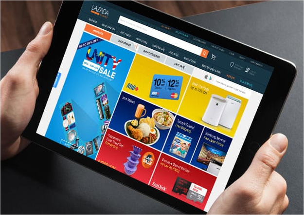 lazada, ecommerce, shopping, beli online
